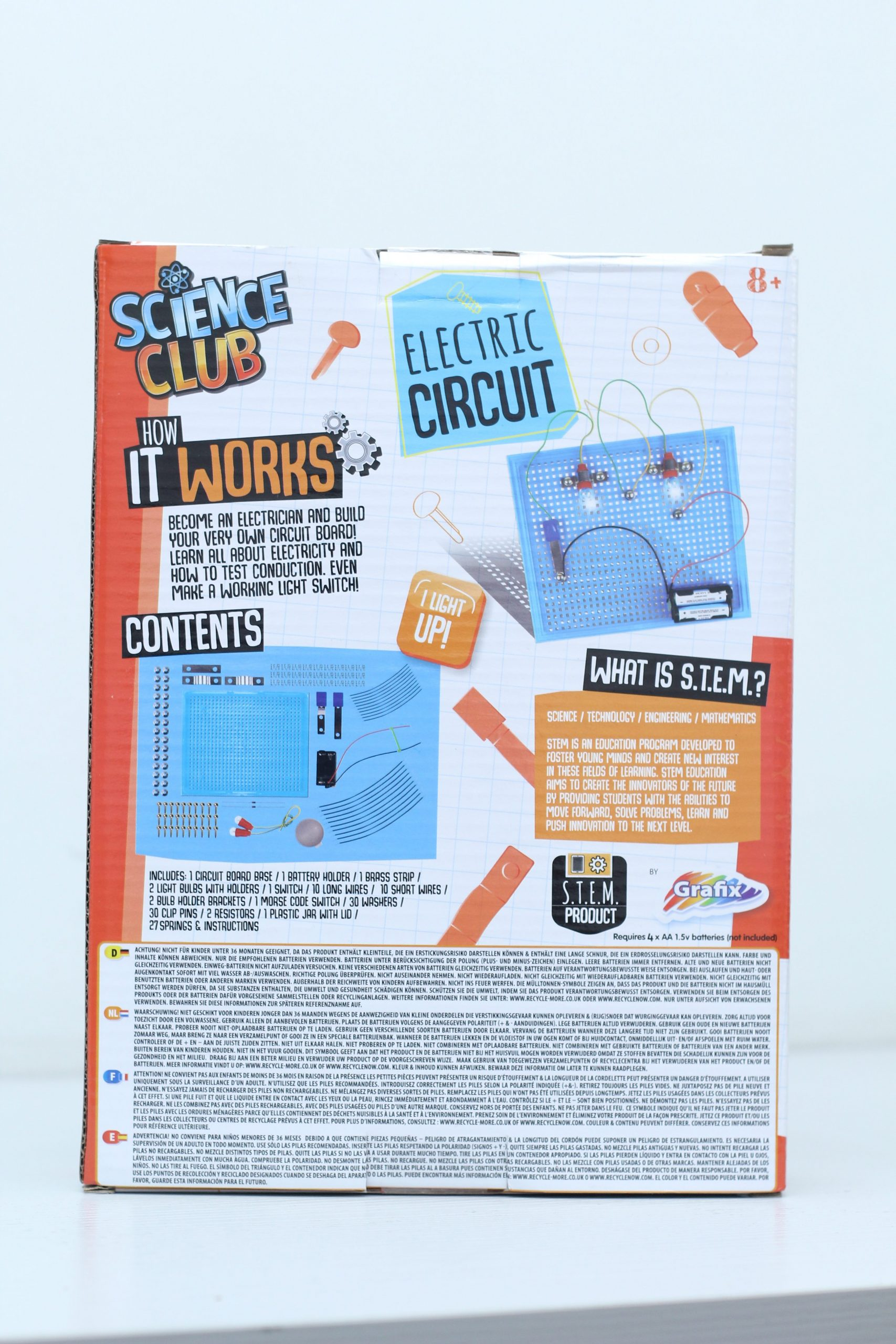 SCIENCE CLUB MAKE AN ELECTRIC CIRCUIT