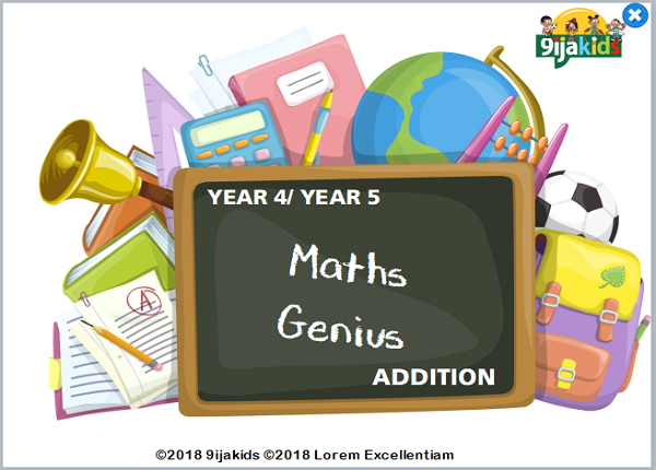 Maths Genius – Year 4 (addition and geometry)