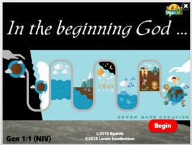 In the Beginning God….