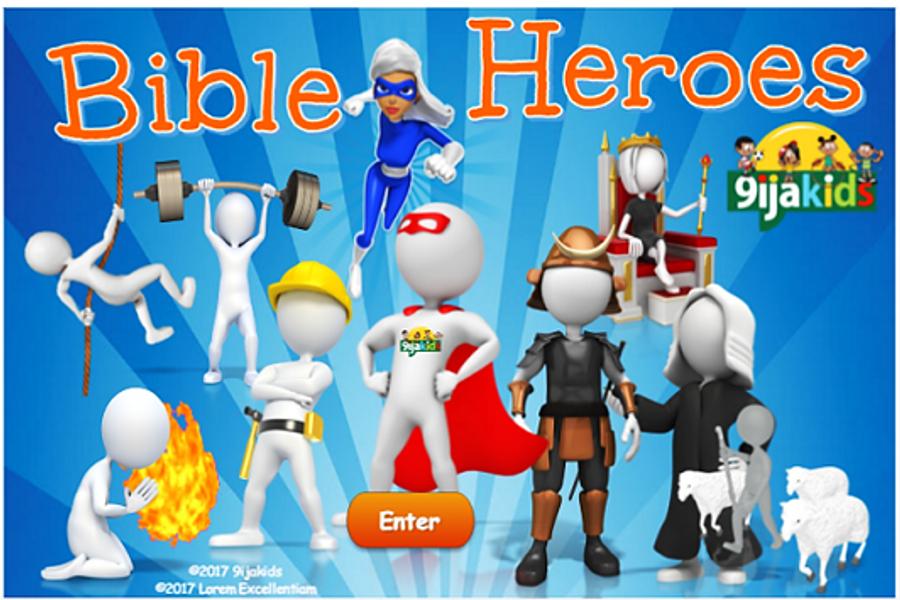 Bible heroes ( Under 5)