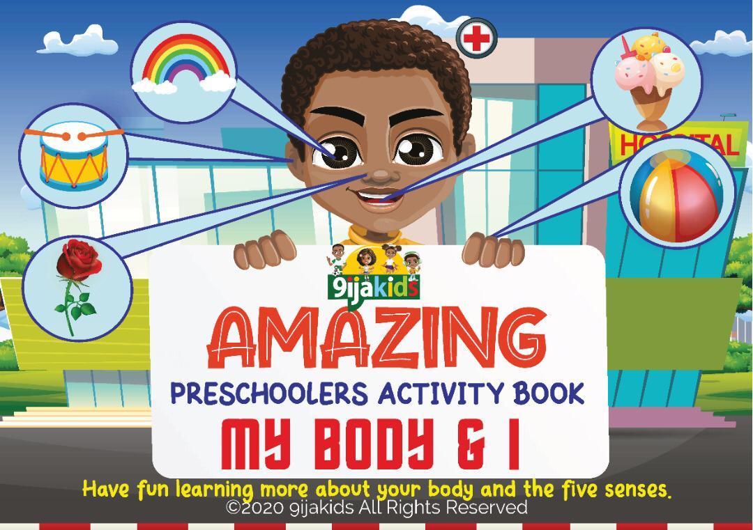 Amazing Preschoolers My Body and I Activity Book