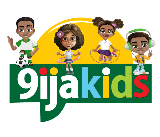 9ijakids educational games for kids logo160 by 137 pixels